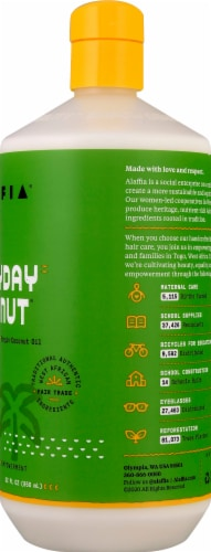 Alaffia Everyday Coconut Body Lotion Perspective: right