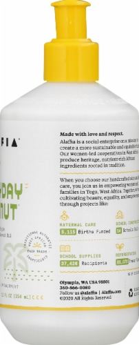 Alaffia Everyday Coconut Night Face Cream Perspective: right