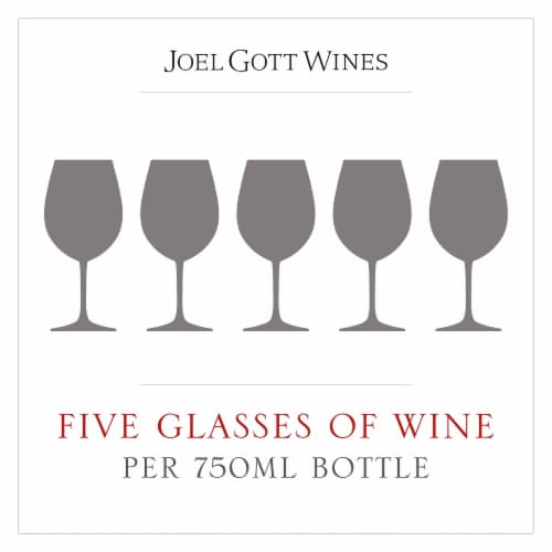 Joel Gott Cabernet Sauvignon Red Wine Perspective: right