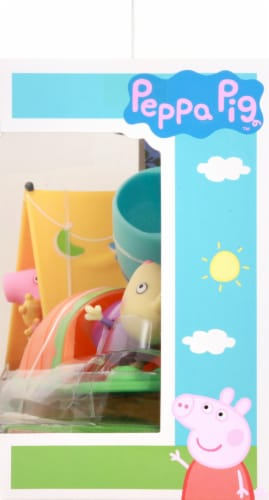 Peppa Pig Camping Sleepover Fun Playset Perspective: right