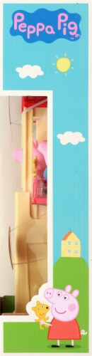 Peppa Pig Pop 'n' Play House Set Perspective: right