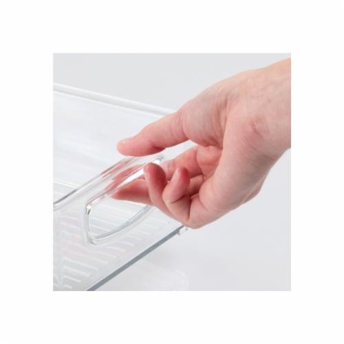 mDesign Plastic Kitchen Food Storage Organizer Bin - 8 Pack Perspective: right