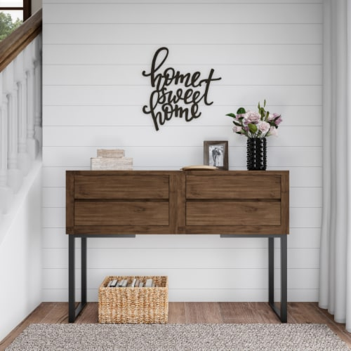 Metal Cutout- Home Sweet Home Decorative Wall Sign-3D Word Art Home Accent Decor Perspective: right