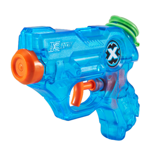 Zuru X-Shot Nano Drencher Water Guns - Blue/Green Perspective: right