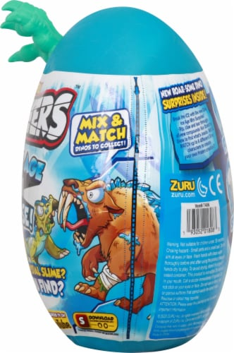Zuru Smashers Dino Ice Age Mini Surprise Egg Perspective: right