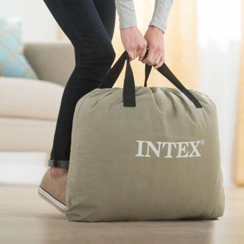 Intex Dura-Beam Pillow Rest Air Mattress Bed w/ Built-In Pump, Twin (2 Pack) Perspective: right
