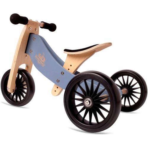 Kinderfeets Adjustable Kids Helmet Bundle with Balance Bike Tricycle, Slate Blue Perspective: right