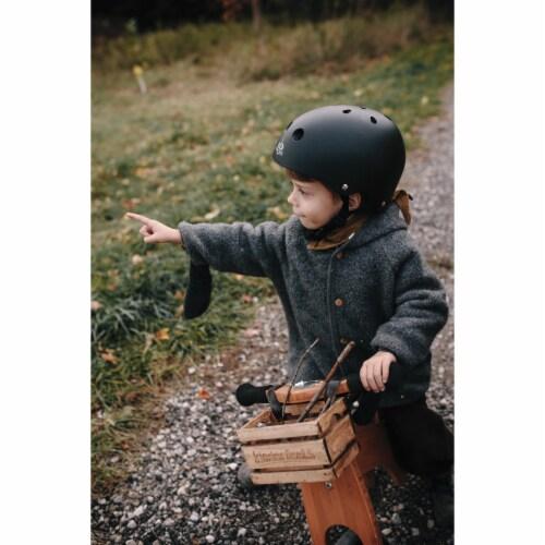 Kinderfeets Kid's Riding Toy Bundle w/Adjustable Helmet & Tiny Tot Balance Bike Perspective: right