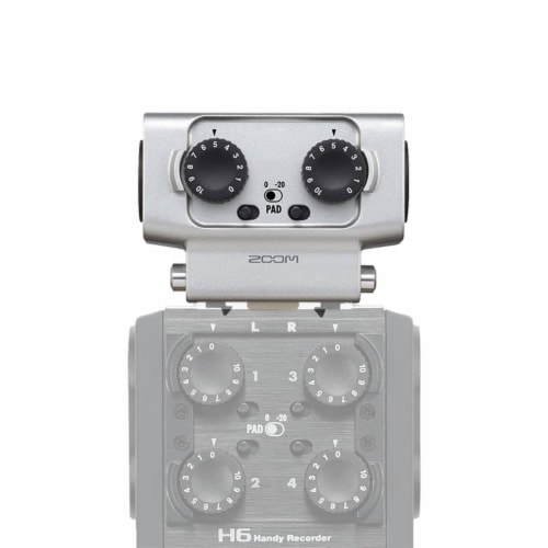 Zoom F1 Digital Sound Recorder with Lavalier Mic and EXH-6 Dual Input Capsule Perspective: right