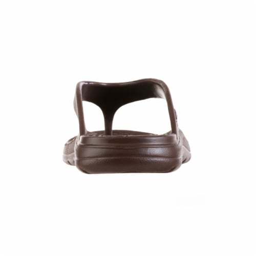 Totes Men's Sol Bounce Ara Thong - Brown Perspective: right