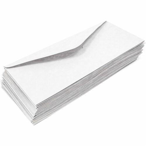 Juvale Parchment Paper Envelopes (48 Count), Gray Perspective: right