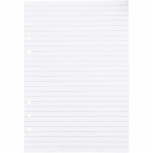LinedA5 Refill Paper, 6 Hole Punched (8.25 x 5.7 In,250 Sheets) Perspective: right