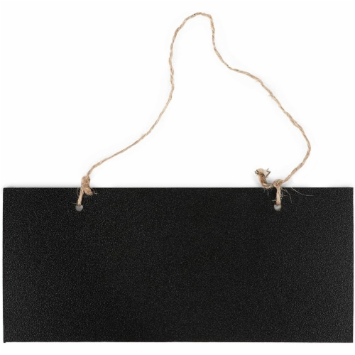 Mini Hanging Chalkboard Signs with Liquid Chalk Markers, Sticks (10 Pieces) Perspective: right