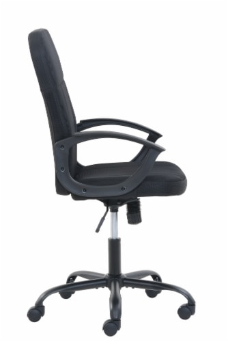 Living Style Ansel Office Chair - Black Perspective: right