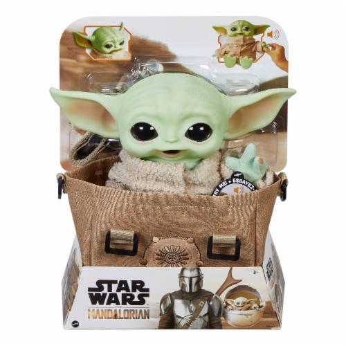 Mattel Star Wars The Mandalorian The Child Premium Plush Bundle Perspective: right