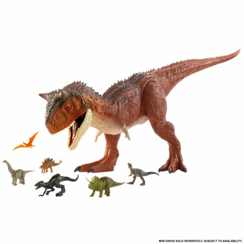 Mattel Jurassic World Colossal Carnotaurus Toro Dinosaur Perspective: right