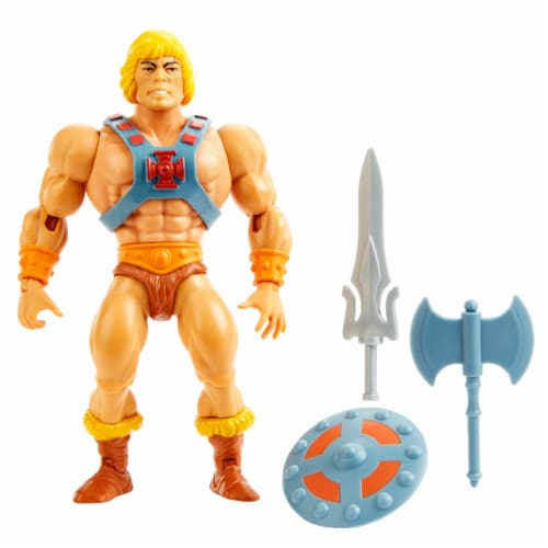 Mattel Masters of the Universe Origins He-Man Action Figure Perspective: right