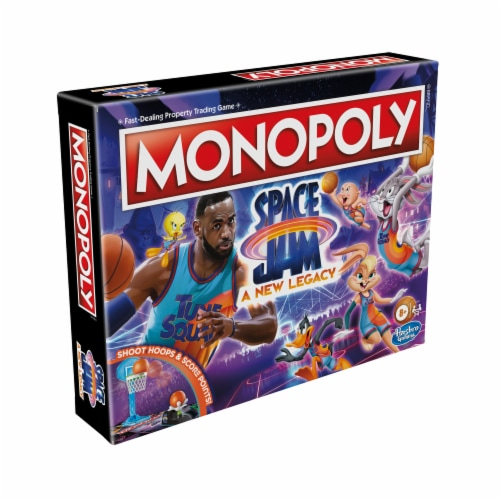 Hasbro Gaming Monopoly: Space Jam: A New Legacy Edition Perspective: right