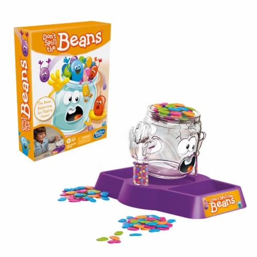 Hasbro Gaming Don't Spill the Beans Game Perspective: right