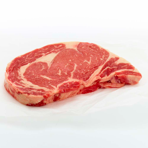 Beef Choice Boneless Ribeye Steak Value Pack (About 3-4 Steaks per Pack) Perspective: right