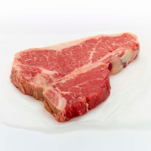 Beef Choice T-Bone Steak Value Pack (2-3 Steaks per Pack) Perspective: right