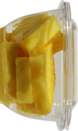 In-Store Cut Pineapple Chunks Small Cup Perspective: right