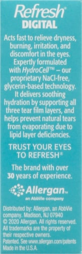 Refresh Digital Lubricant Eye Drops Perspective: right