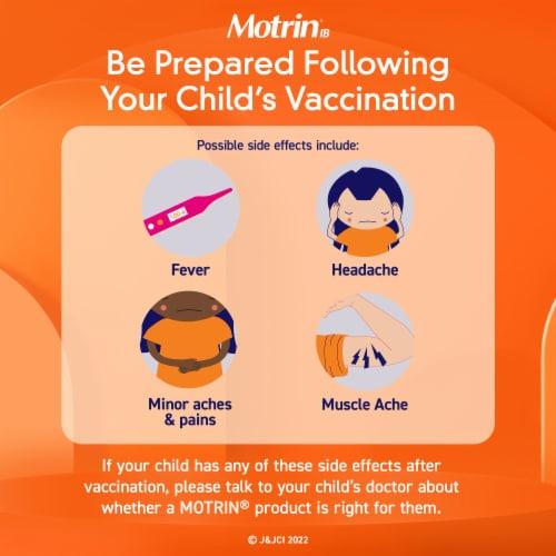 Motrin Children's Original Berry Flavor Oral Pain Relief Liquid Perspective: right