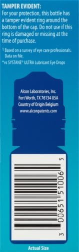 Systane Hydration Multi-Dose Preservative-Free Lubricant Eye Drops Perspective: right