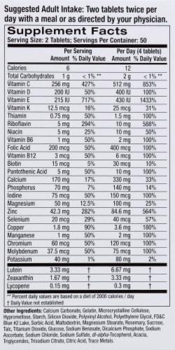Alcon I-Caps Multi-Vitamin Tablets Perspective: right