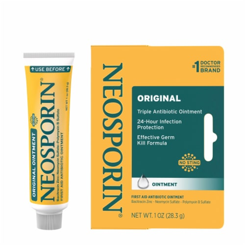 Neosporin® Original First Aid Antibiotic Ointment Perspective: right