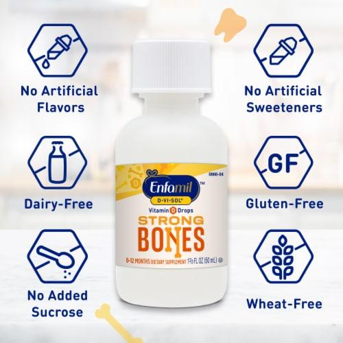 Enfamil D-Vi-Sol Liquid Vitamin D Supplement Perspective: right