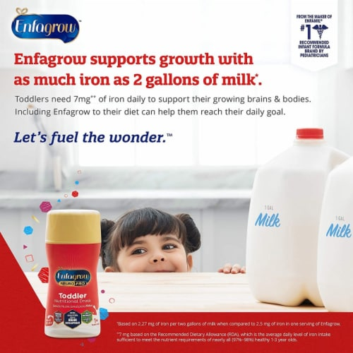 Enfagrow Neuro Pro Premium Toddler Nutritional Drink 6 Count Perspective: right