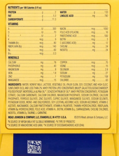 Enfamil Infant Nursette NeuroPro Formula Perspective: right