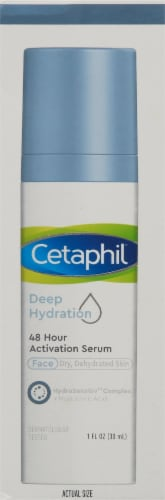 Cetaphil Deep Hydration 48 Hour Face Serum Perspective: right