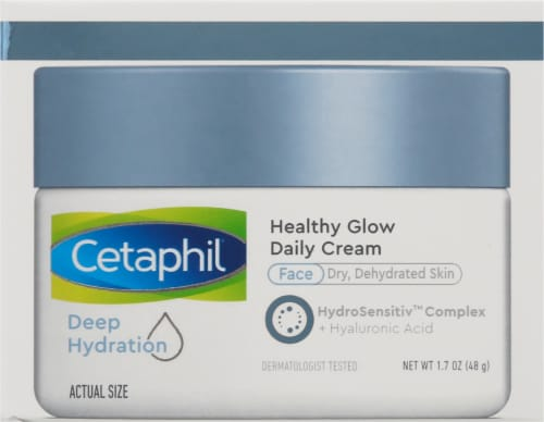 Cetaphil Deep Hydration Healthy Glow Daily Face Cream Perspective: right