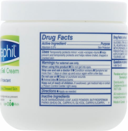 Cetaphil Soothing Gel Cream Perspective: right