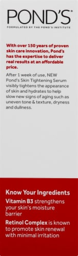 Pond's Rejuveness Skin Tightening Serum Perspective: right