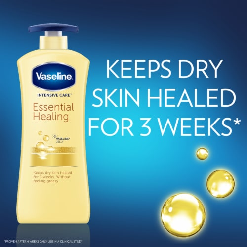 Vaseline® Intensive Care Essential Healing Body Lotion Perspective: right