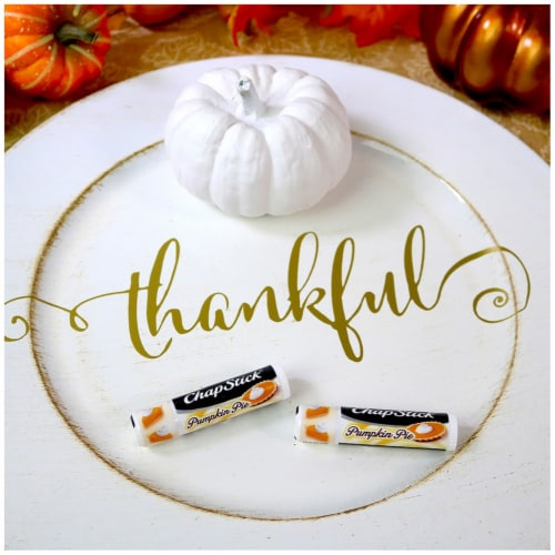 ChapStick® Pumpkin Pie Lip Care Perspective: right