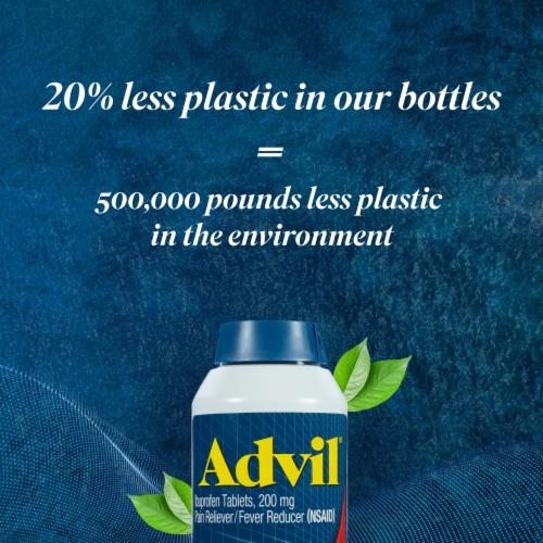 Advil® Liqui-Gels® Minis Pain Relief/Fever Reducer Liquid Capsules Perspective: right