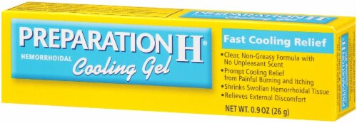 Preparation H Hemorrhoidal Cooling Gel Perspective: right