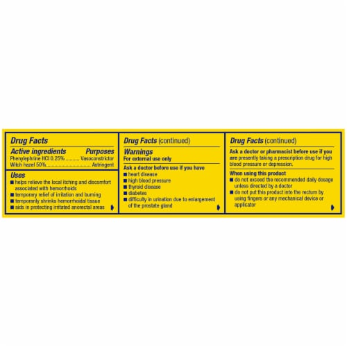 Preparation H Fast Cooling Relief Hemorrhoidal Cooling Gel Perspective: right