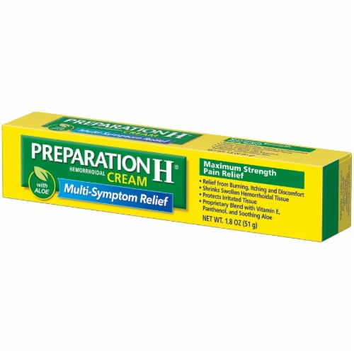 Preparation H Hemorrhoidal Cream with Aloe Perspective: right