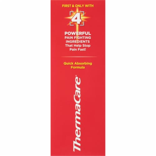 ThermaCare Ultra Pain Relieving Cream Perspective: right