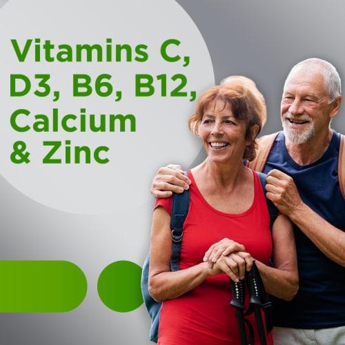 Centrum® Silver® Adults 50+ Multivitamin Perspective: right