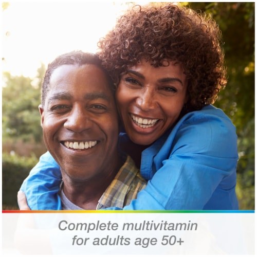 Centrum® Silver Adults 50+ Multivitamin Supplement Tablets Perspective: right