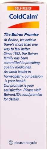 Boiron ColdCalm Cold Relief Tablets Perspective: right