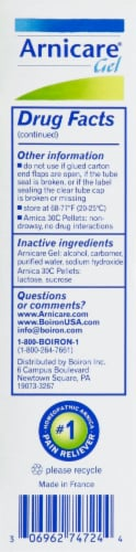 Boiron Arnicare Pain Relief Gel Perspective: right