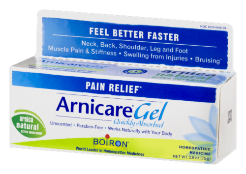Boiron Arnicare Homeopathic Pain Relief Gel Perspective: right